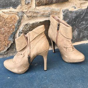 Journee Connection platform ankle boot heels